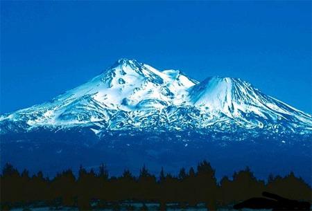 Гора Шаста, Mount Shasta; Калифорния, США. Место силы